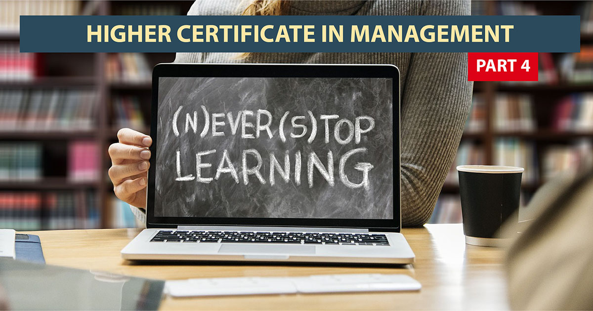Higher Certificate in Management: Part IV